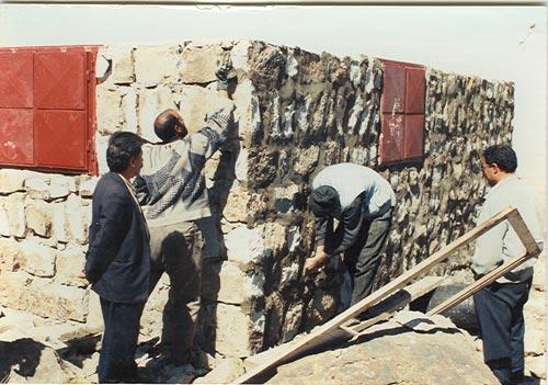 جان پناه قوش گلی(کمال) منطقه سهند تبریز که در سال 1376 شمسی تکمیل شد